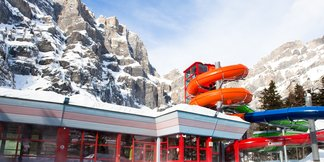 The shining spas of The Alps