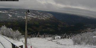 Snowfall in Norway Oct. 17, 2014