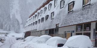 Čerstvý sníh v Alpách - 22.-23.10.2014