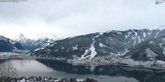 Čerstvý sníh v Alpách (12.1.2015)