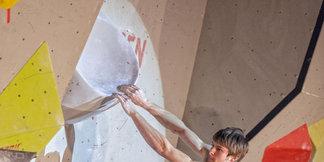 Zweiter Streich von Jan Hojer: Sieg beim Boulder-Weltcup in Grindelwald - ©Heiko Wilhelm