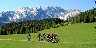 Mountainbiker in der Ferienregion Eggental - ©Eggental Tourismus