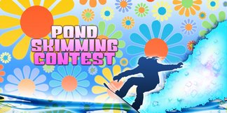 Pond Skimming Contest - ©Skim across Gore's huge pond in our annual spring classic!
