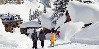 Raport śniegowy: w Alpach idealne warunki narciarskie, w Sudetach najlepsze w tym sezonie! - ©Avoriaz facebook