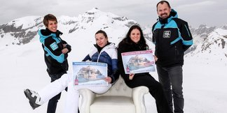 Le Grand Massif vient de rendre une skieuse heureuse à vie !