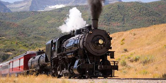 Trains, Horses & Outlaws in Park City - ©Rocky Mountain Outfitters