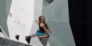 Retschy gelingt beim Boulderweltcup in Indien Sprung auf Platz 2  - ©Eddie Fowke   IFSC