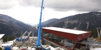 Jasná: Výstavba lanovky Krupová - Kosodrevina - ©TMR, a.s.