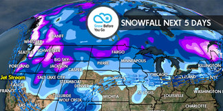 12.1 Snow Before You Go: 4 Storms to Pound West