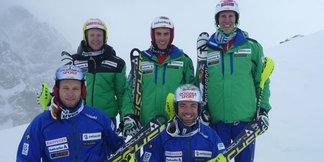 Levi : Cinq Suisses au départ du slalom - ©Swiss Ski