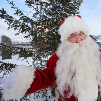 Julenissen tar juleferien på Hafjell