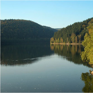 Talsperre im Thüringer Wald