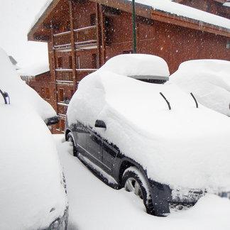 4 janv. 2016 : Neige Fraiche sur les Alpes (10 à 40 cm) - ©Facebook Val Thorens