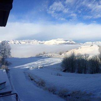 Tutta le neve di Gennaio 2016 - ©Scuola Sci 360 Mottarone Facebook