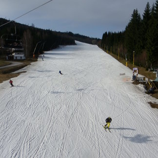 A pořád se lyžuje! Harrachov 11.4.16 - ©SA Harrachov