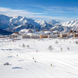 Sneeuw, veel sneeuw in de Franse Alpen, 13 november 2016. - ©Alpe d'Huez