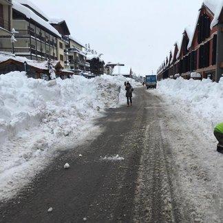 Snowfall in Italy Nov. 25, 2016 - ©Sestriere Eventi
