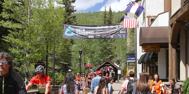 2013 GoPro Mountain Games in Vail, Colorado