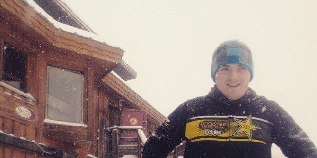 Powder in French Alps Dec. 27, 2014
