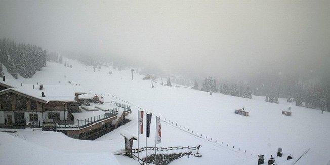 Opnieuw winter in de Alpen (20 mei 2015).