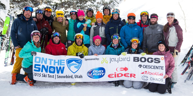 Introducing the 2015/2016 OnTheSnow Ski Test Team