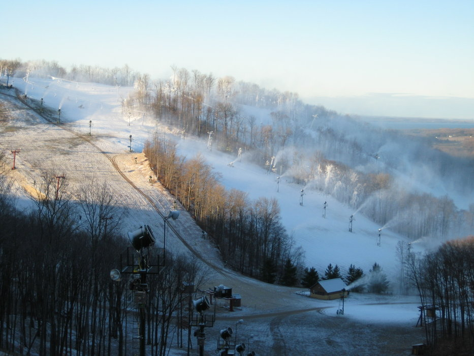 Nub's Nob continues to add lifts and terrain. It's snowmaking system has garnered acclaim in national ski publications.