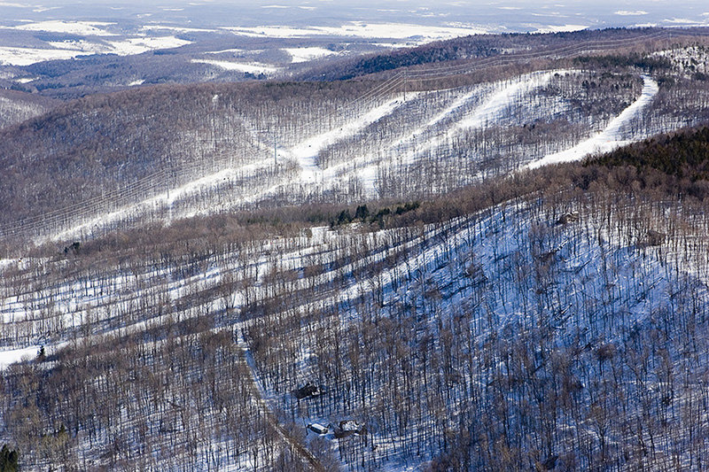 Easy riding at Greek Peak Mountain Resort, New York