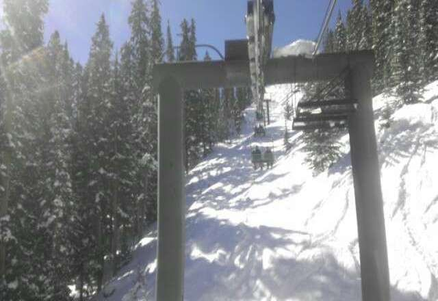 Saturday was awesome! Great snow and sunny! Can't wait to go back next Saturday!