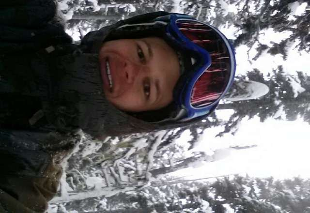 Sick runs on 7th this morning before visibility dropped. Headed over to Glacier and had a great time there.