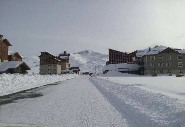 70 cms. en valle nevado, chile