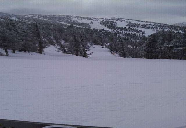 empty, great snow but cold! was 0 degrees at 330