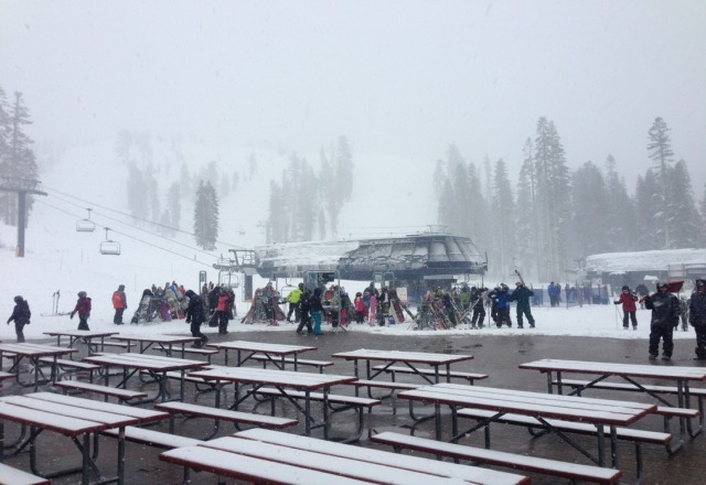 25th was amazing! snowed since it opened.