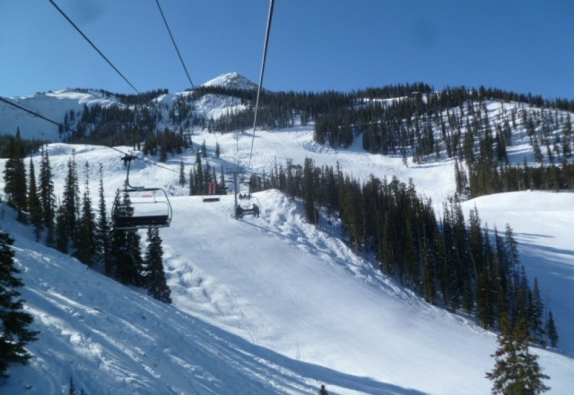 Great groomed ski trip in CB last week! Sunny almost