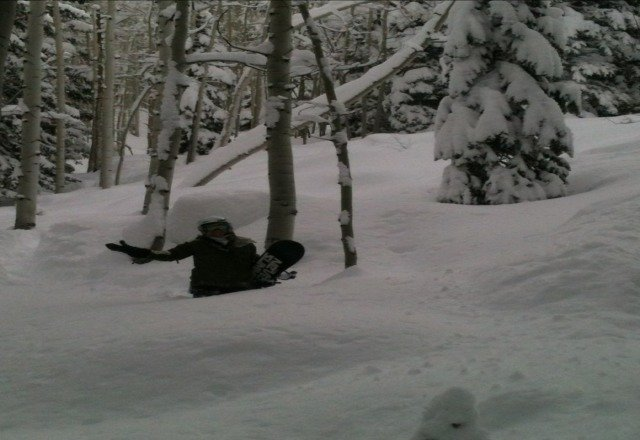 shhhh. dont tell anyone. Its a shame when you inhale powder every turn. lol.