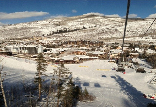Vail, absolutely great today...... well packed, short chair lift lines and lots of sun, but cold!