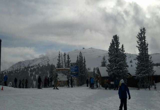 Panoramic closed and it snowed saturday, should make for a good sunday.