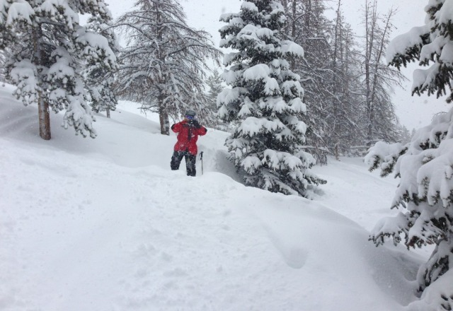so much POW!  incredible conditions!