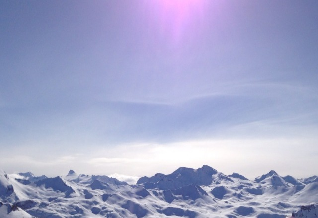 absolutely amazing. brilliant ski conditions. Tignes is the best.