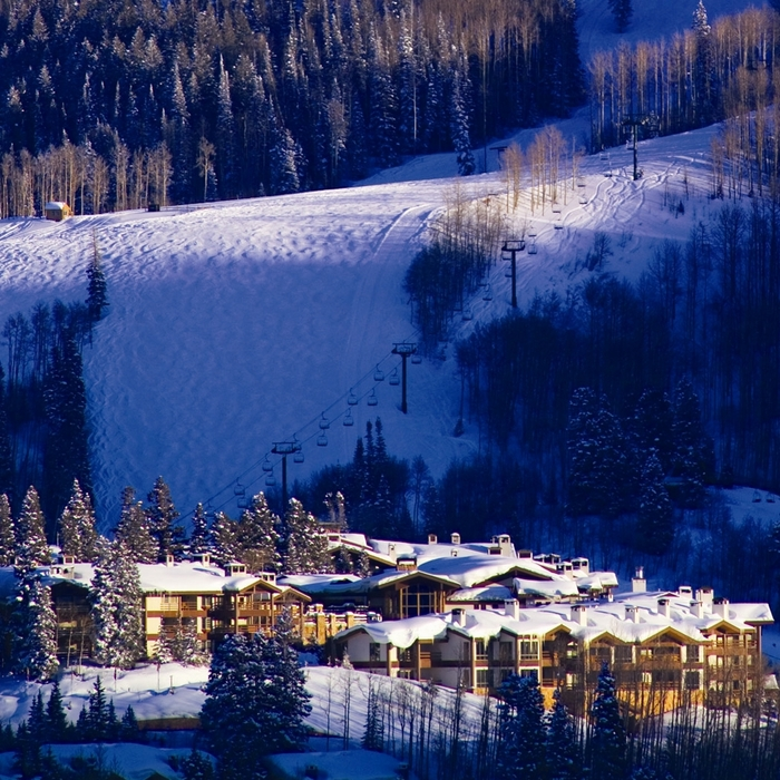Stein Eriksen Lodge at the Deer Valley Resort, Utah