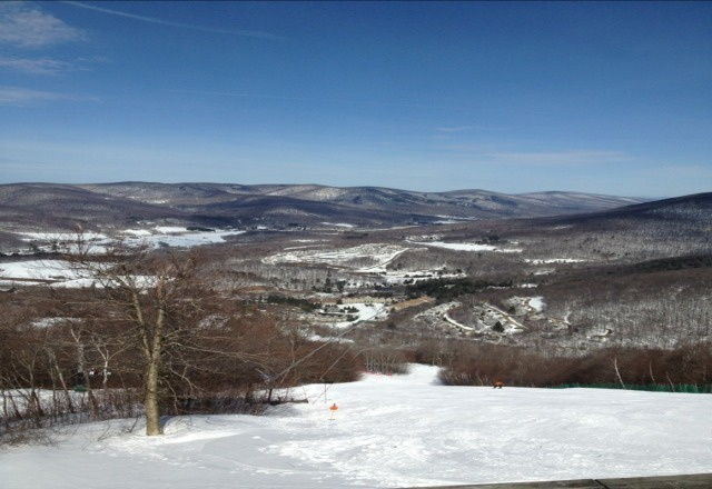 Awesome weekend.  Some of the best skiing I've done in the east.