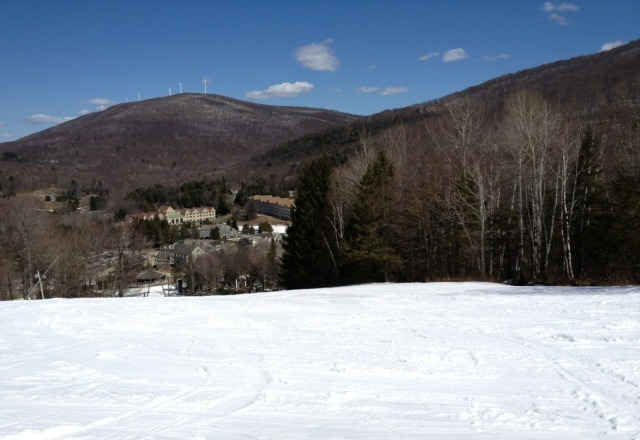 Great Spring skiing conditions today!!