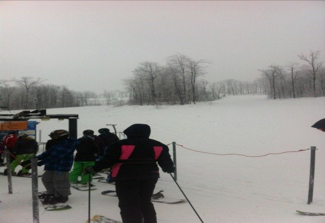 lifts lines were long