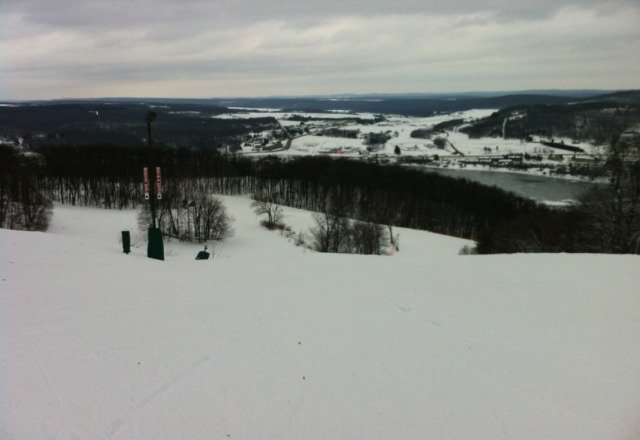 was there today (Sunday the 6th). weather was good, lift lines were none existent, slopes were groomed well.  It was a great day on the slopes.