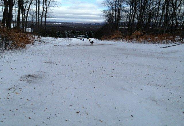 taken 12/31. no new snow since!