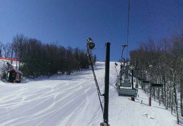 blue bird skies with great conditions