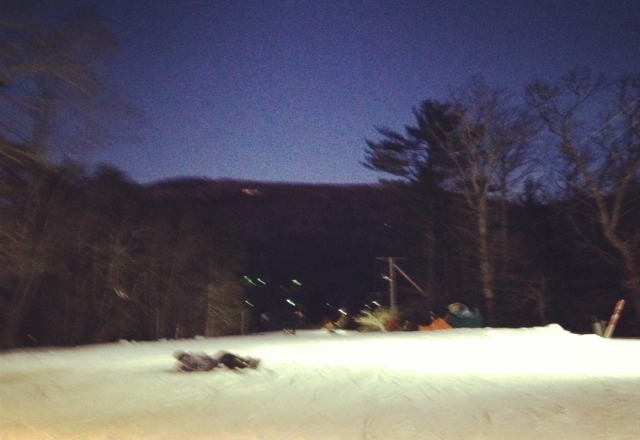 only one run and a bunny slope but enjoyable