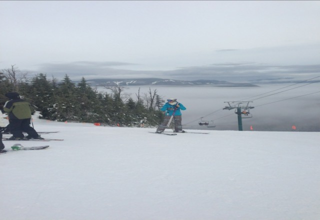 unbelievable saturday, pretty good sunday.  they do a great job at loon......