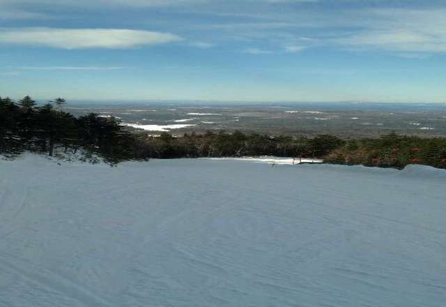 excellent skiing today! the conditions were perfect- sun was shining and the snow was just right!