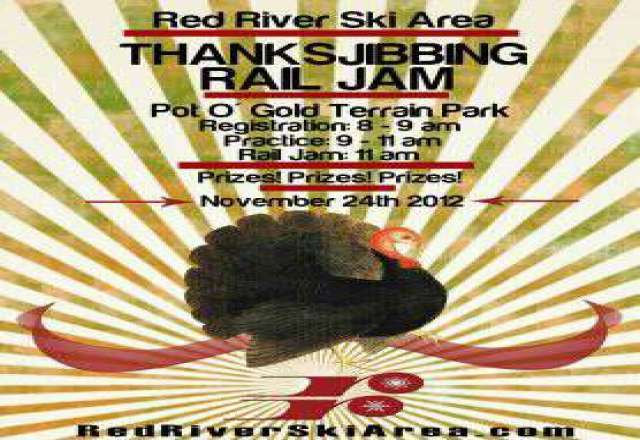 Opening Day 11/21/2012 Thanksjibbing Rail Jam On 11/24/2012