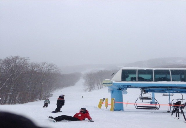 12/27. great snow. hard working terrain but soft and covered finallly.
